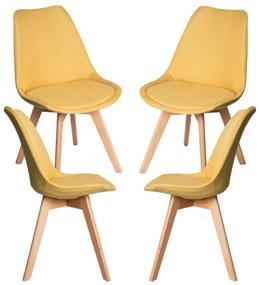 Pack 4 Cadeiras Synk Tecido
