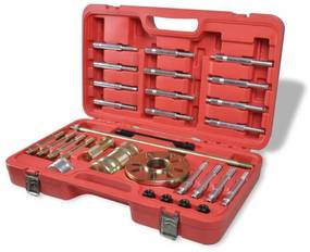 210199 vidaXL Kit Extractor do Cubo de Roda 30 peças