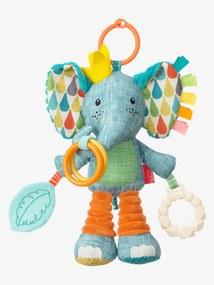 Elefante de atividades Go Gaga Playtime Pal®, da INFANTINO azul medio liso com motivo