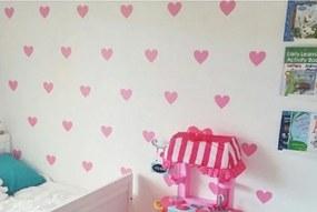 Autocolantes de parede corações