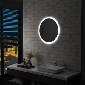 144723 vidaXL Espelho LED para casa de banho 60 cm