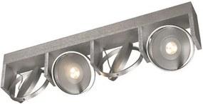 Philips Massive 53154/48/10 - Foco LED VISION 4xLED/7,5W Alumínio