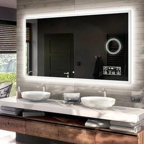 Espelho para Banheiro com Iluminação LED L01  x=40 x   y=40 cm
