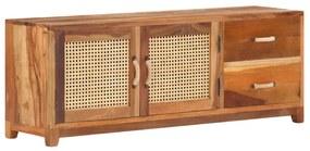 288096 vidaXL Móvel de TV 120x30x45 cm madeira recuperada maciça