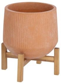 Kave Home - Vaso Denpasar de terracota de Ø 25 cm