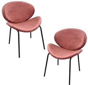 Pack 2 Cadeiras Suki Veludo