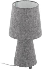 EGLO 97122 - Lâmpada de mesa CARPARA 2xE14/5,5W/230V