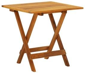 41435 vidaXL Mesa de bistrô 46x46x47 cm madeira de acácia sólida