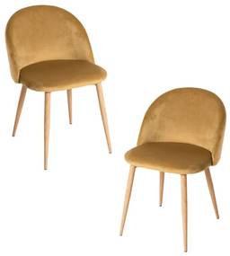 Pack 2 Cadeiras Vint Veludo