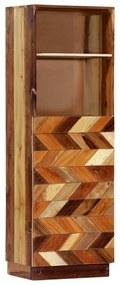 282733 vidaXL Armário alto 40x32x122 cm madeira recuperada maciça