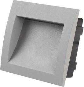LED exterior Luz noturna embutida BUILT-IN 1xLED/3W branco quente IP65
