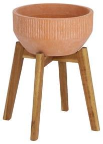 Kave Home - Vaso Subject de terracota de Ø 27,5 cm
