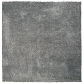 Tapete de poliéster 200 x 200 cm cinza claro EVREN