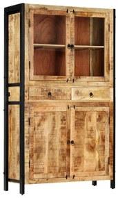 247446 vidaXL Armário alto 100x40x175 cm madeira de mangueira maciça