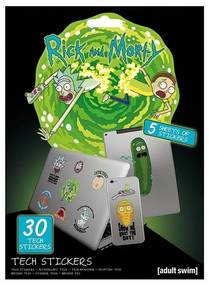 Stickers Rick And Morty  Taille unique