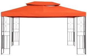 Outsunny Substituição de teto para pavilhão 3x4m de Poliéster Terracota