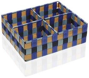 Caixa com compartimentos Blue Bay Têxtil