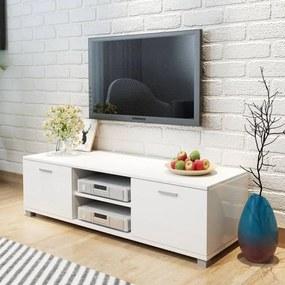 243043 vidaXL Móvel de TV 140x40,3x34,7 cm branco brilhante