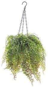 Planta artificial suspensa 48 cm BOXUS