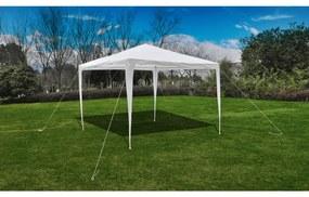 90332 vidaXL Tenda para jardim com cobertura em pirâmide 3 x 3 m