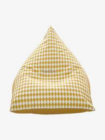 Pufe personalizável amarelo