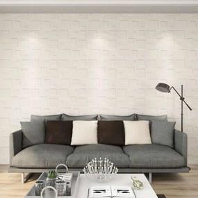 146295 vidaXL Painéis de parede 3D 12 pcs 0,5x0,5 m 3 m²