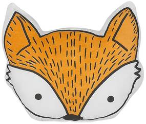 Almofada decorativa de raposa laranja 50 x 40 cm VADODARA