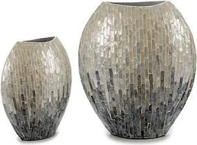 Vaso Cinzento Efeito desbotado (15 x 35 x 32 cm)