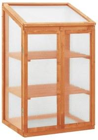 314848 vidaXL Estufa 60x45x100 cm madeira de abeto