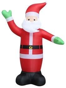 Decorações festivas VidaXL  Pai Natal insuflável 600 cm