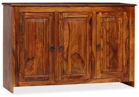 245151 vidaXL Aparador em madeira de sheesham maciça 115x35x75 cm