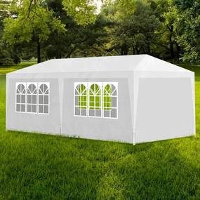 90336 vidaXL Tenda para festas 3x6 m branco