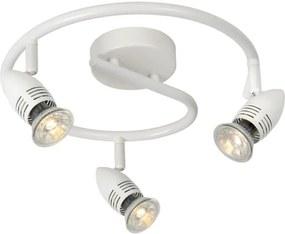 Lucide 13955/14/31 - Foco LED CARO-LED 3xGU10/5W/230V branco