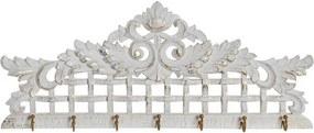 Bengaleiro Dkd Home Decor Metal Madeira Mdf (59 X 5 X 23 cm)