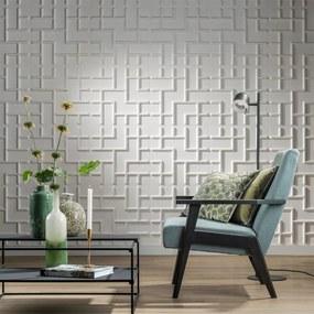 412830 WallArt Painéis de parede 3D Tetris 12 pcs GA-WA16