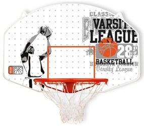 423108 New Port Tabela basquetebol suspensa aro fibra de vidro 16NY-WGO-Uni