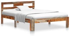 288415 vidaXL Estrutura de cama 120x200 cm madeira de sheesham maciça