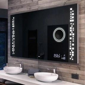 Espelho para Banheiro com Iluminação LED L38  x=50 x   y=40 cm