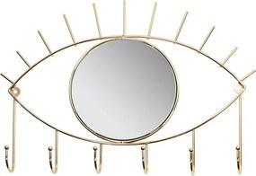 Bengaleiro Eye Dourado Latão (42 X 30 X 4 cm)