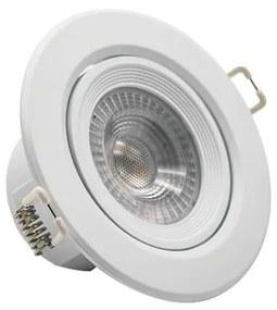 Downlight LED 7W Basculante Redondo - 3000K