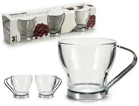 Conjunto de Chávenas de Café (3 Peças) 10 cl