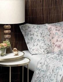 Jogo de lençóis cetim de algodão de 200 fios: Rosa cama 140/150cm - 1 lençol superior 240 x 290 cm + 1 lençol inferior 240 x 290 cm + 2 fronha almofada 50x70 cm