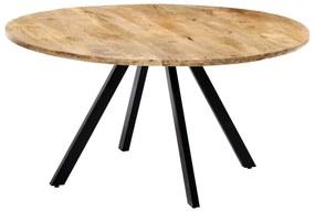 247849 vidaXL Mesa de jantar 150x73 cm madeira de mangueira maciça