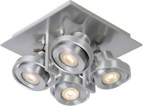 Lucide 17906/21/12 - Foco LED com regulação LANDA 4xGU10/5W/230V cromado