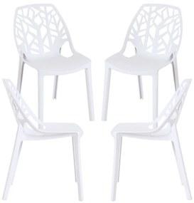 Pack 4 Cadeiras Hissar Polipropileno