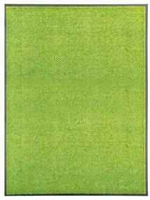323430 vidaXL Tapete de porta lavável 90x120 cm verde