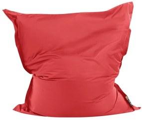 Pufe almofada 140 x 180 cm vermelho