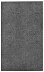 323419 vidaXL Tapete de porta lavável 90x150 cm antracite