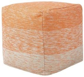 Tamborete 40 x 40 cm laranja HIRRI