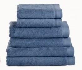 Toalhas banho 100% algodão penteado 580 gr. cor azul petroleo: 1 Toalha 70x140 cm - 1 toalha 50x100 cm -  1 toalha 30x50 cm - 1 luva turco 15x21 cm